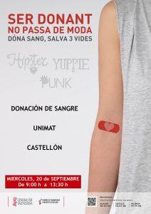 20UNIMAT cartel donacion sangre